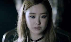 "Image: Screenshot from Song Ji Eun's ""Bobby Doll"" MV / TS Entertainment"