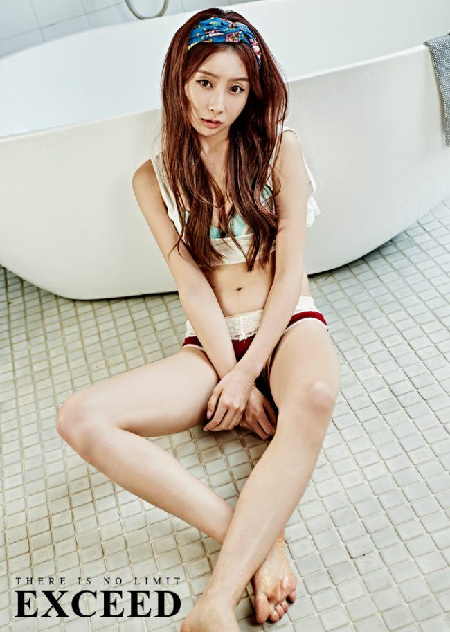 """Image: Stellar's Gayoung posing for """"EXCEED"""""""
