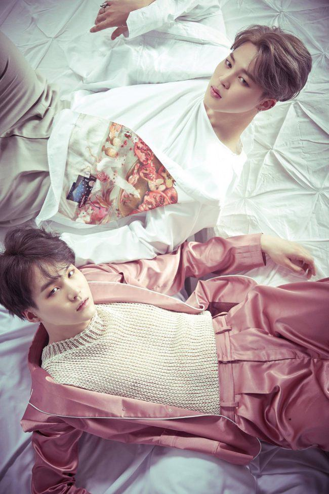 "BTS Jimin and Suga for ""Wings"" mini-album / Image Source: Big Hit Entertainment"