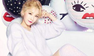 Taeyeon shows off her beautiful complexion as the model for Banilla Co / Image Source: Taeyeon's Instagram via