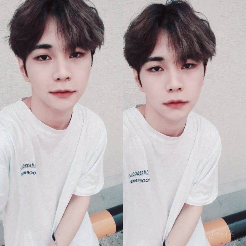 Selca of Topp Dogg's Hansol