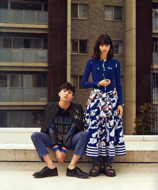 G Dragon and Nana Komatsu / NYLON