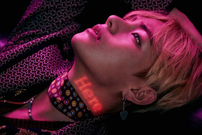 "Image: BTS' V teaser image for ""WINGS"" / Big Hit Entertainment"