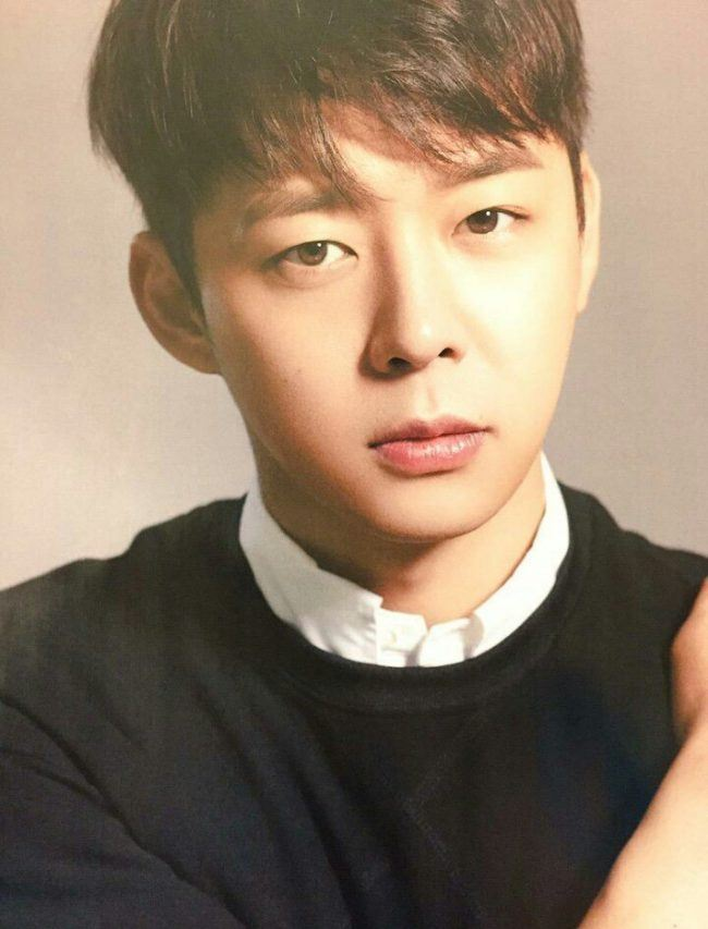 Yoochun after haircut/ Instiz