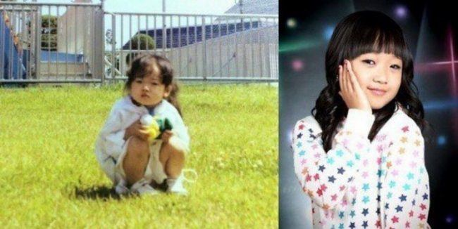 IOI's Yoojung (Childhood photo)/ Dispatch