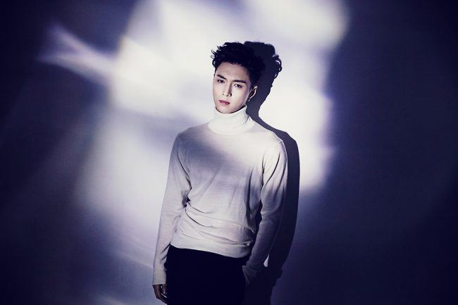 "EXO's Lay teaser pics from ""Lose Control"" mini album / Image Source: SM Entertainment"