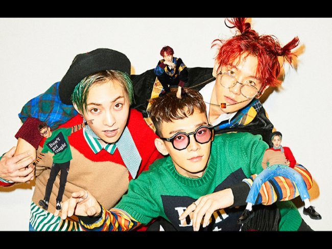 "EXO-CBX (Chen, Baekhyun & Xiumin) teaser pics for ""Mama"" mini album / Image Source: SM Entertainment"
