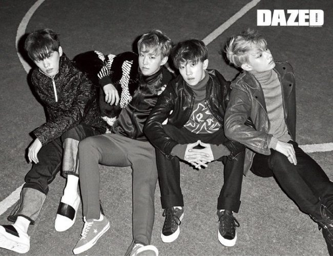 Seventeen for Dazed Magazine