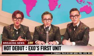 HOT DEBUT : EXO'S FIRST UNIT / Image Source: SM Entertainment