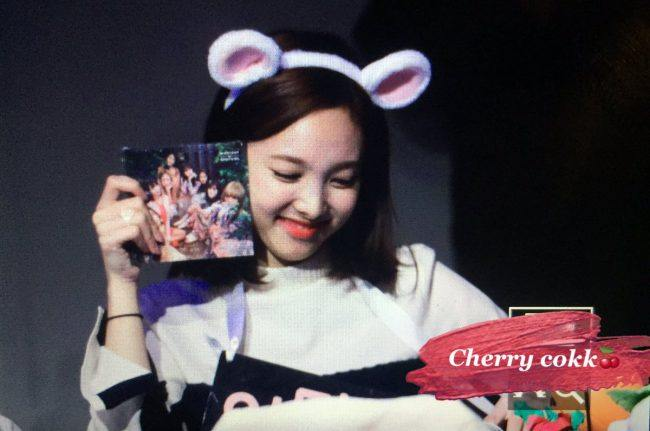 Nayeon excited about gifted album
