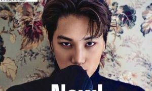 "EXO's Kai Poses for ""Arena Homee"" Magazine / Image Source: YES24"