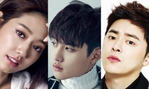 Actress Park Shin Hye, EXO's D.O. & Actor Jo Jung Suk / Image Source: One Hallyu