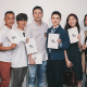 """EXO's D.O. with """"Positive Constitution"""" staff/ Image Source: Young Samsung"""