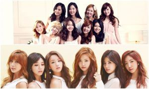 Apink and SNSD