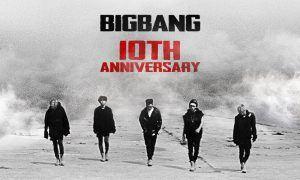 BIGBANG's 10th anniversary poster / Image source: YG Entertainment
