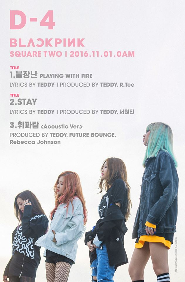 BLACKPINK SQUARE TWO track list