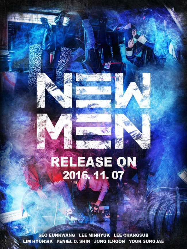 "Newest teaser released by Cube Entertainment for their 9th mini-album ""New Men"""