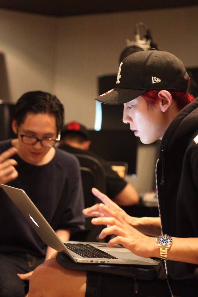 Far East Movement & EXO's Chanyeol / Image Source: Far East Movement