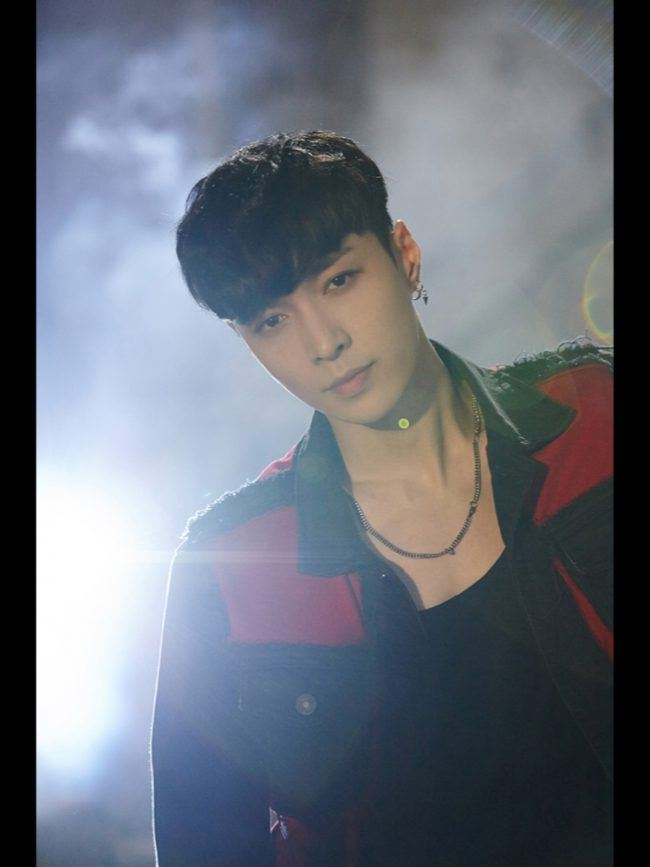 "EXO Lay concept photo from his solo track ""What U Need"" / Image Source: SM Entertainment"