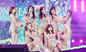 Girls' Generation performing at MBC's DMZ Festival in September 2016 / Image source: iMBC