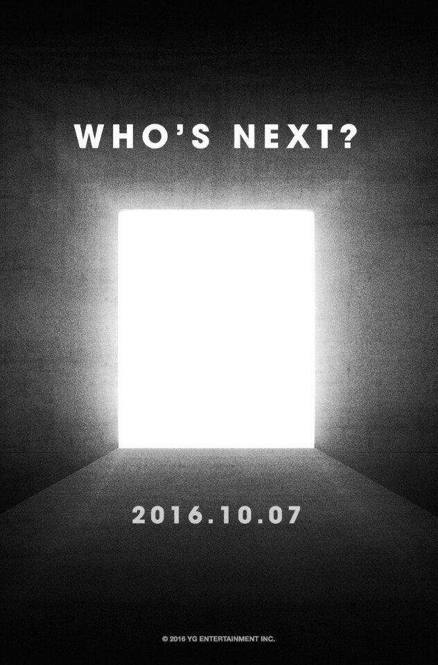 """YG Entertainment """"Who's Next?"""""""