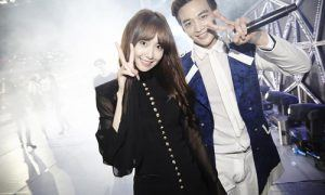 Yoona and Minho