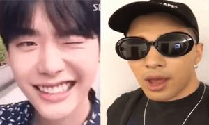 Lee Jong Suk and Taeyang Fantastic Duo