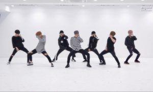 "BTS dance practice for ""Blood Sweat & Tears"" / Big Hit Entertainment"