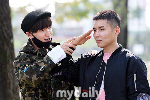 Super Junior's members, Leetuek & Ryeowook / Image Source: MyDaily