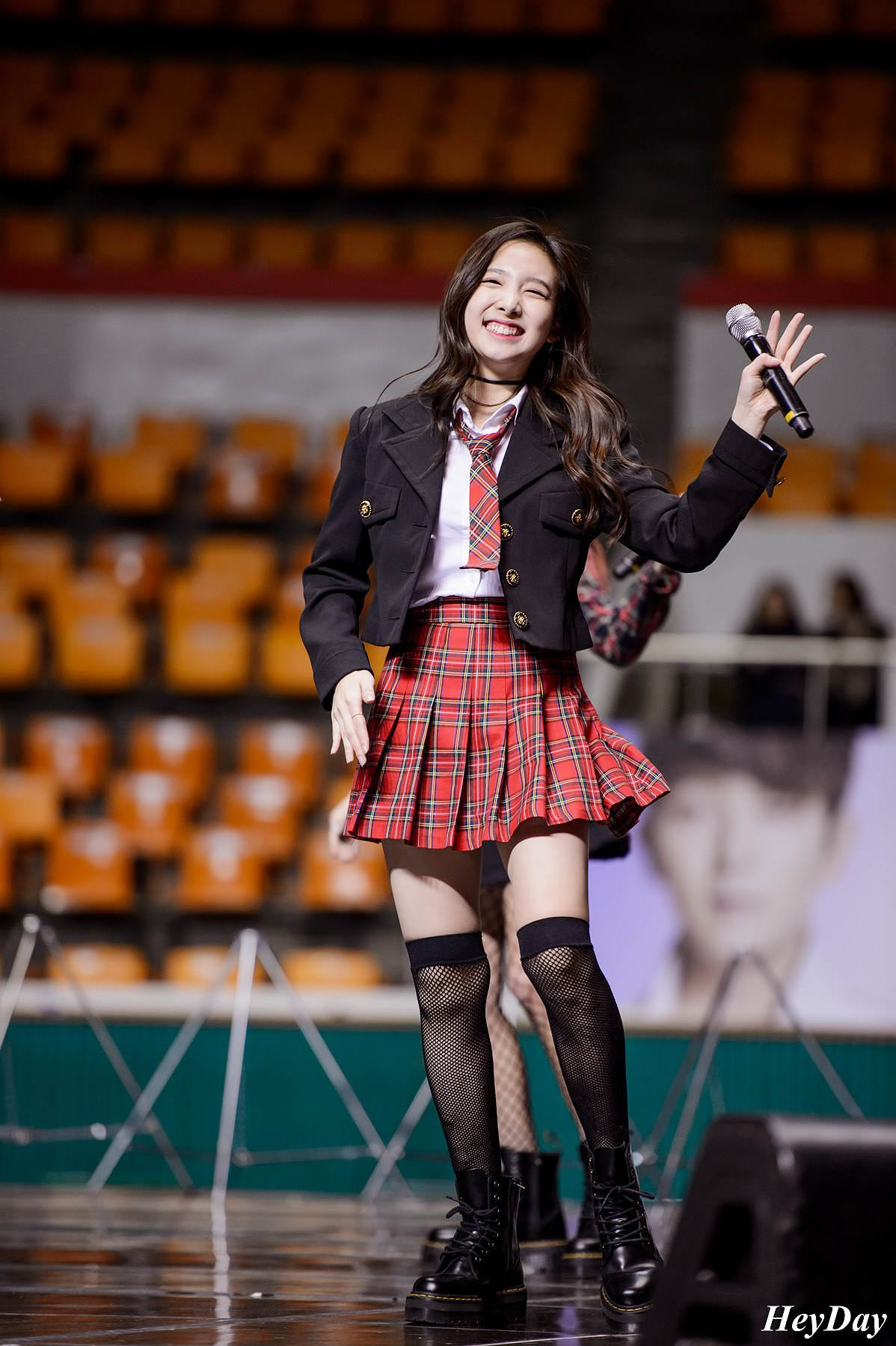 twice nayeon wears sexy fishnet stockings at studio  u2014 koreaboo