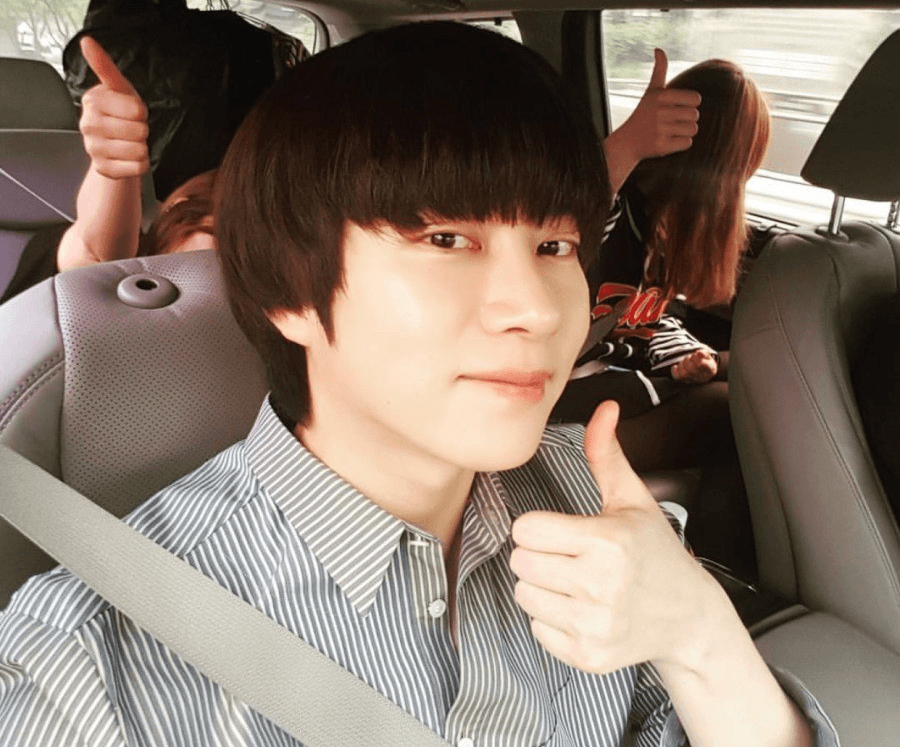 buzz cut haircuts heechul exposes how taeyeon and yoona look without any 4108