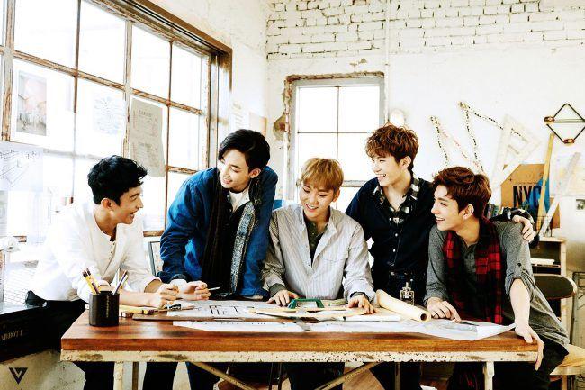 Seventeen's vocal line!