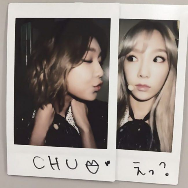 Taeyeon and Sooyoung being their normal goofy selves. / Source: Wattpad