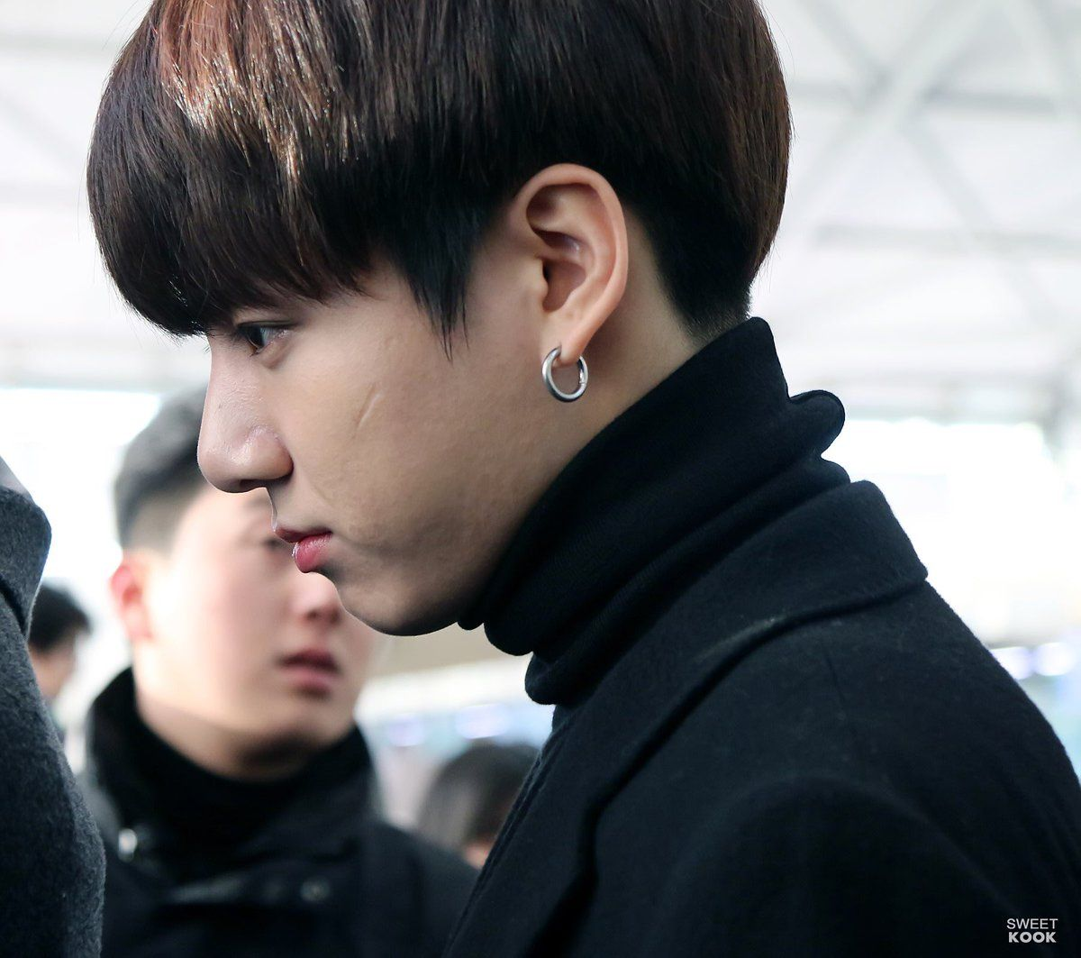 BTS Jungkook Scar