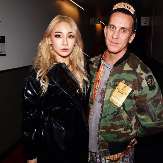 CL and Jeremy Scott