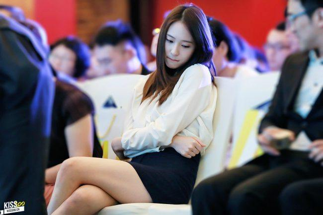 f(x) Krystal Biting Her Lips