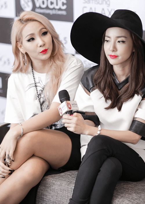 Sandara Park and CL are known to be extremely close friends.