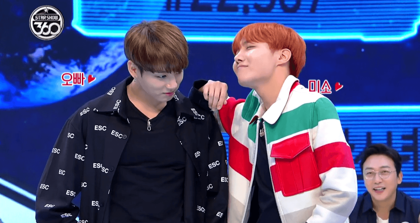 Jungkook and JHope know just how awesome they are at dancing.