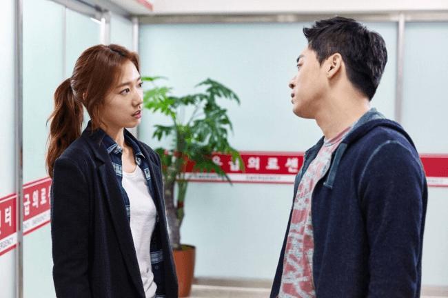 "Actress Park Shin Hye & Actor Jo Jung Suk for ""Hyung"" Movie Stills/ Image Source: CJ Entertainment"