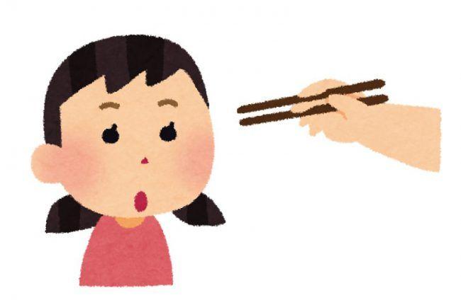 Pointing Chopsticks Game