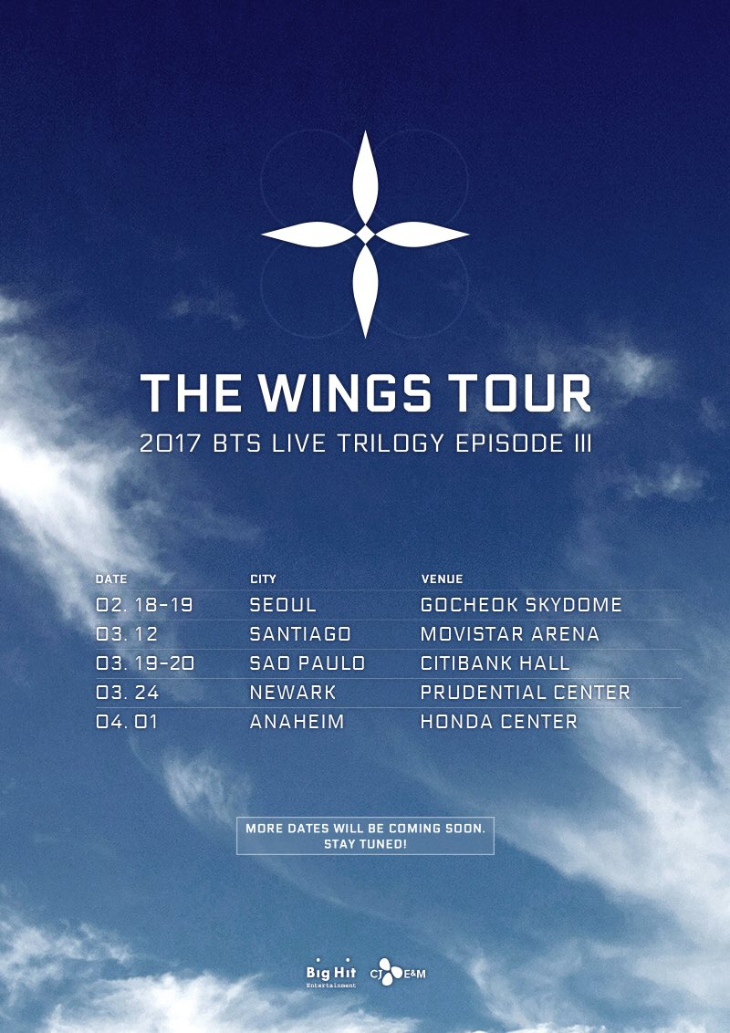 bts wings tour