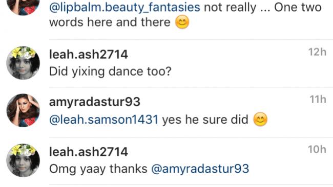 Amyra Dastur confirms Lay's dance role.