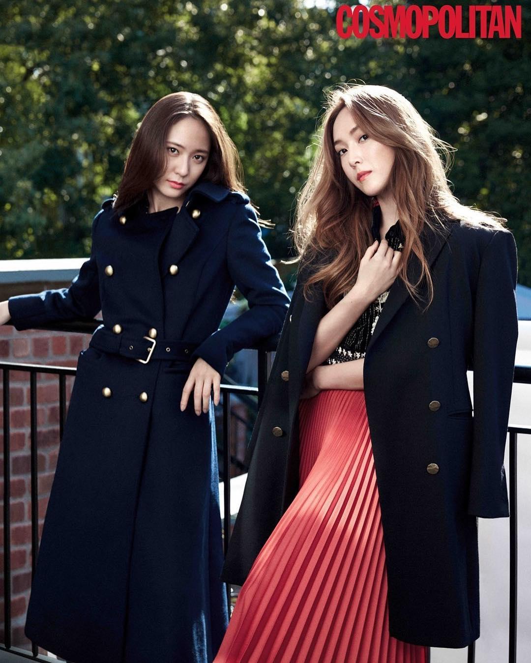 Jessica and Krystal Cosmopolitan