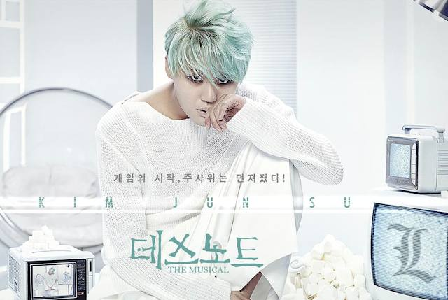 "JYJ's Junsu for the musical ""Death Note"""