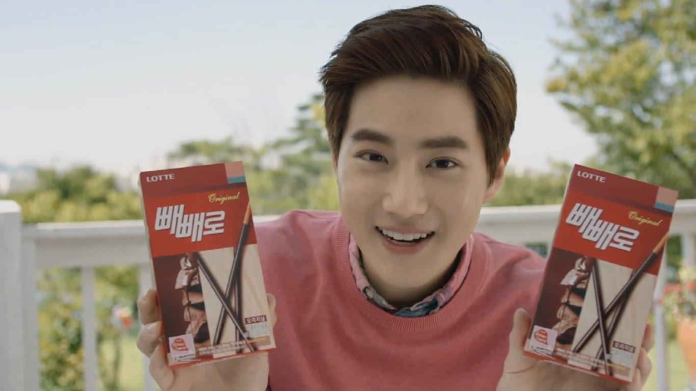 EXO's Suho Celebrates Peppero Day with EXO-Ls/ Image Source: Lotte