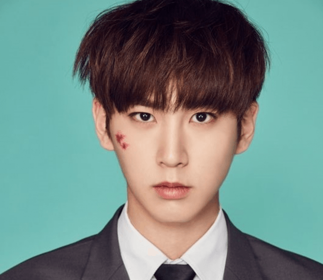 Pentagon's Shinwon/ Image Source: Cube Entertainment