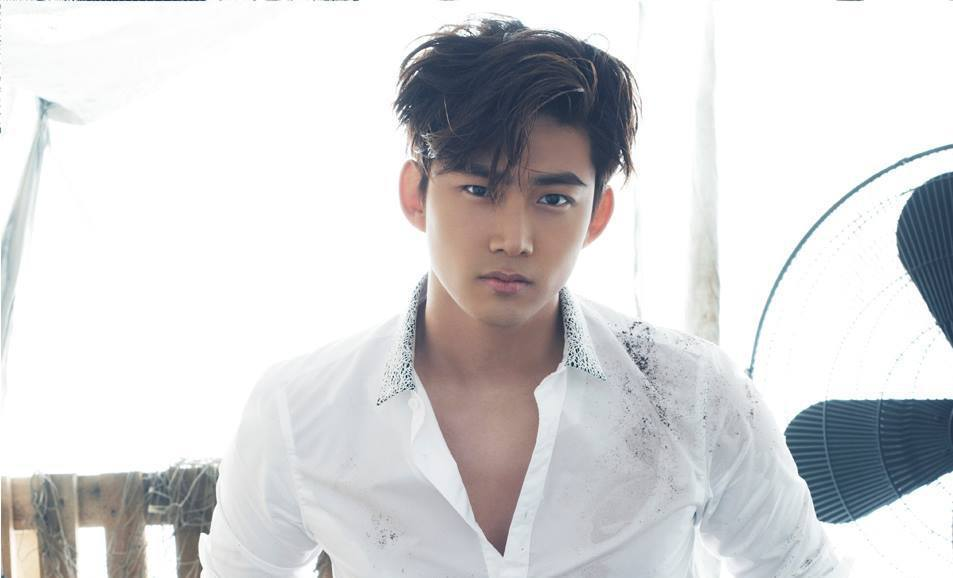 Taecyeon's masculine visual is strong and sexy