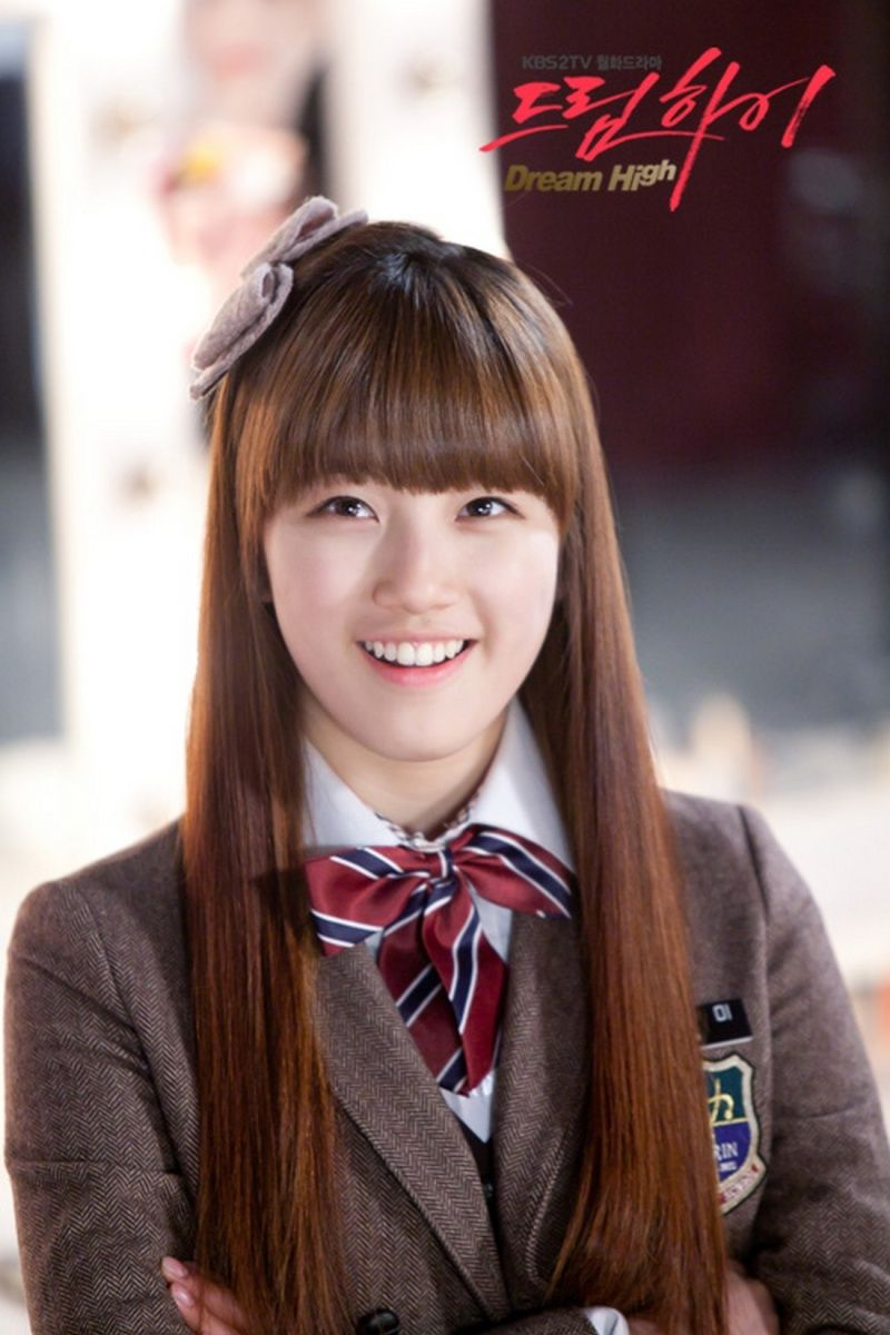 "At age 16, she became everyone's first love in the musical drama, ""Dream High."""