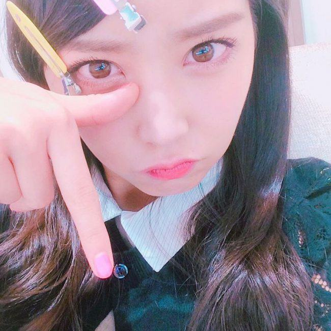 NMB48 Team M/AKB48 Team A's Shiroma Miru