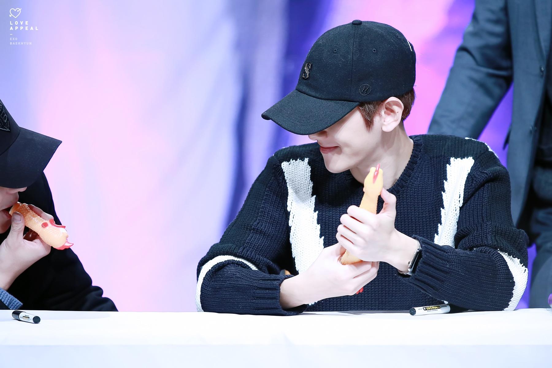 de EXO Chanyeol y Baekhyun